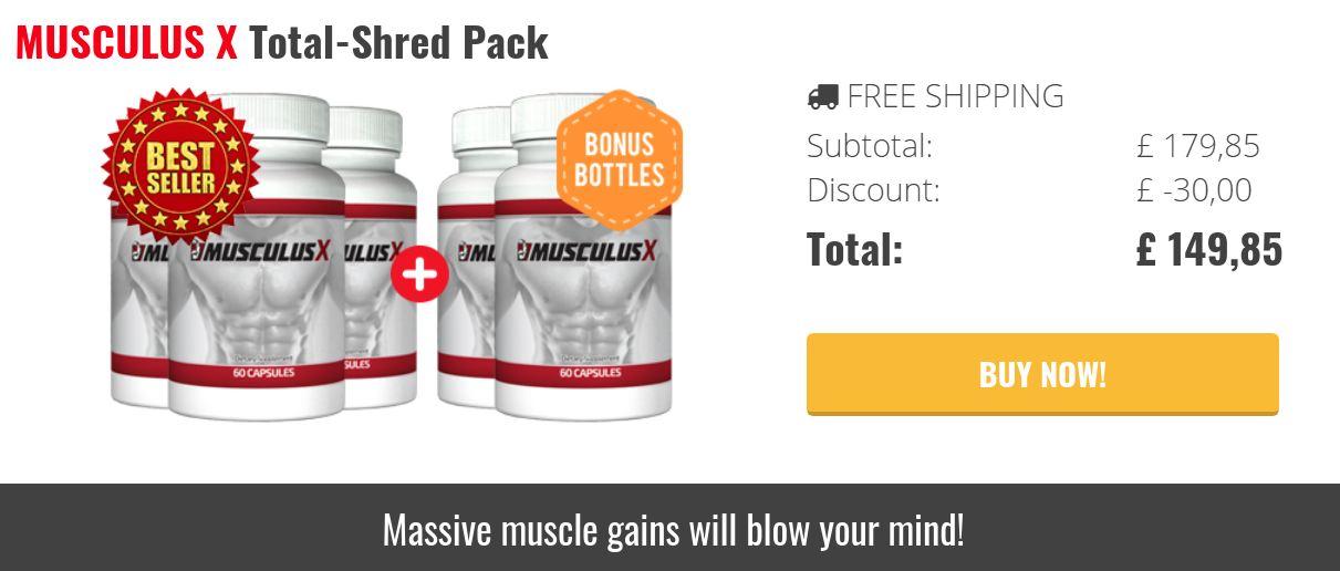 MusculusX Benefits