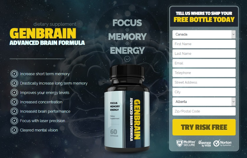 GenBrain Brain Formula