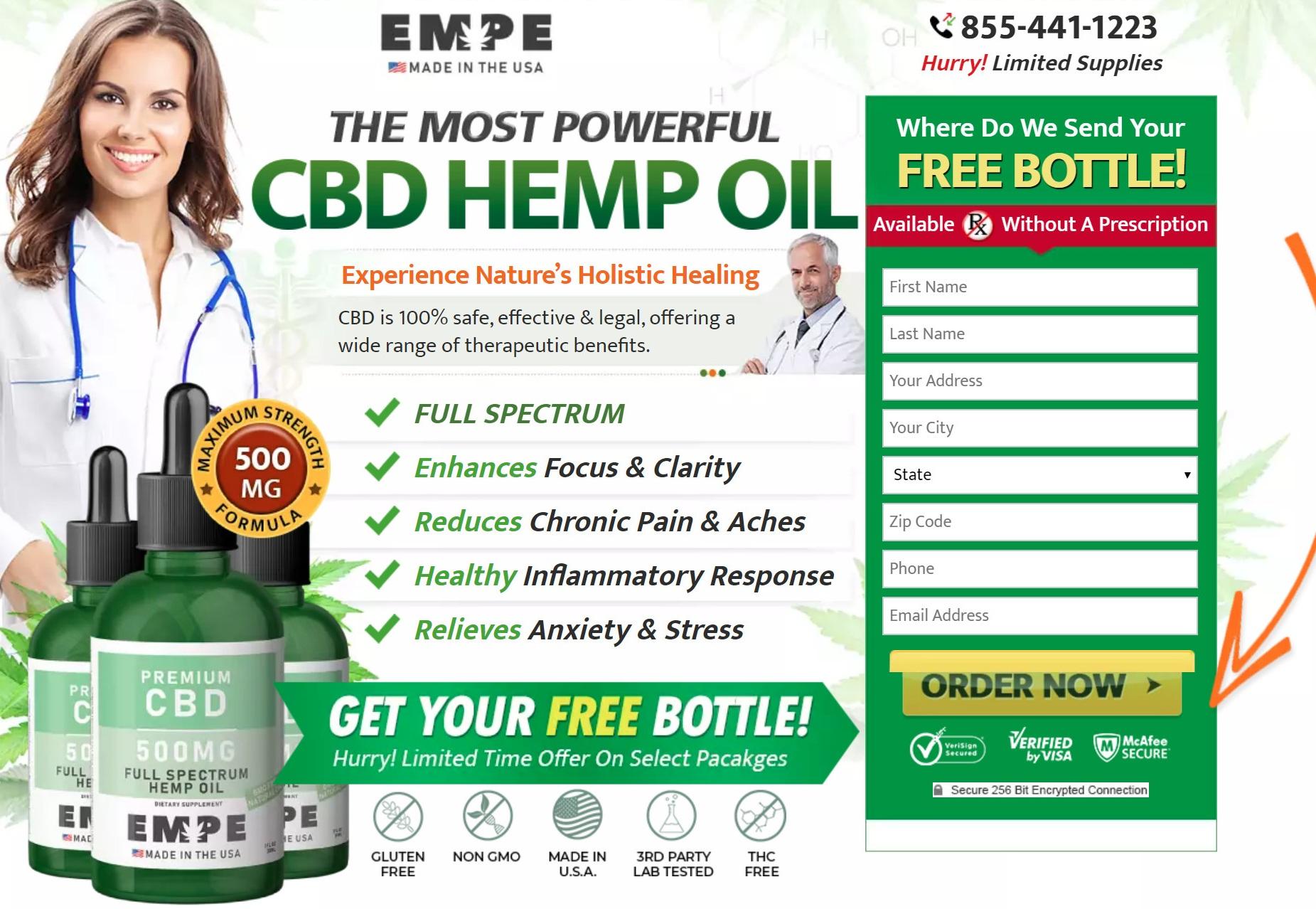 EMPE CBD Oil