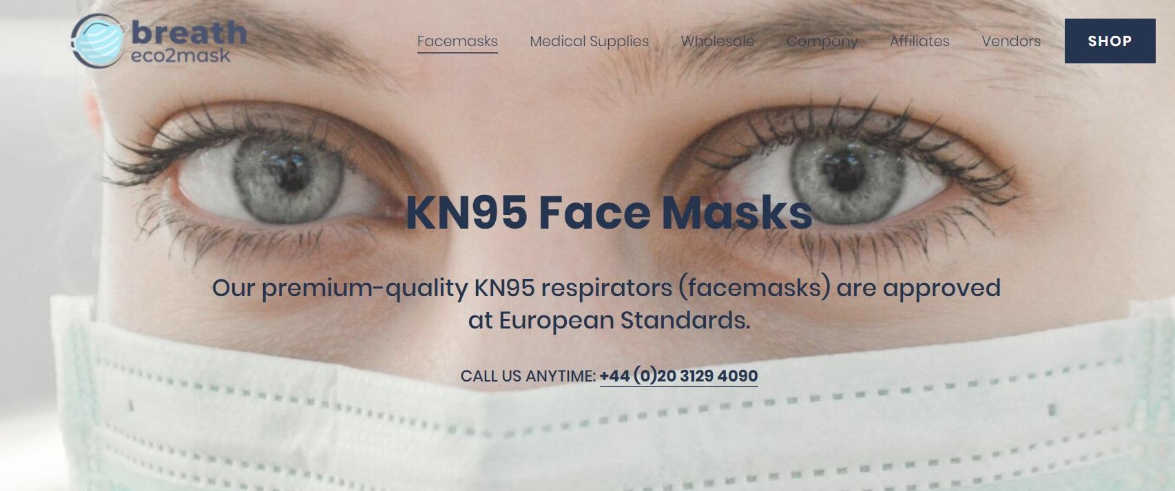 breath Eco2 Mask UK