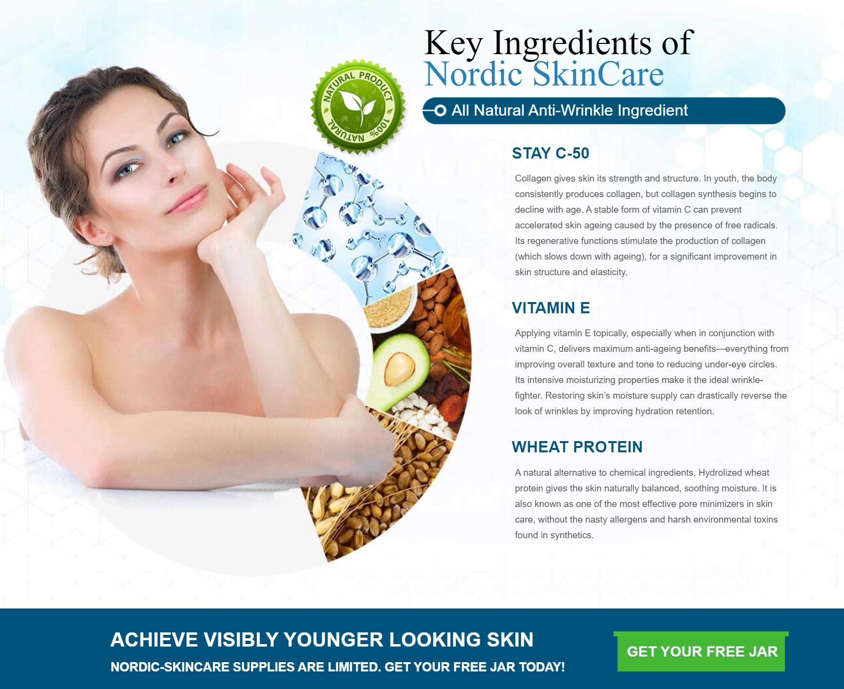 Nordic Anti Aging Cream Ingredients