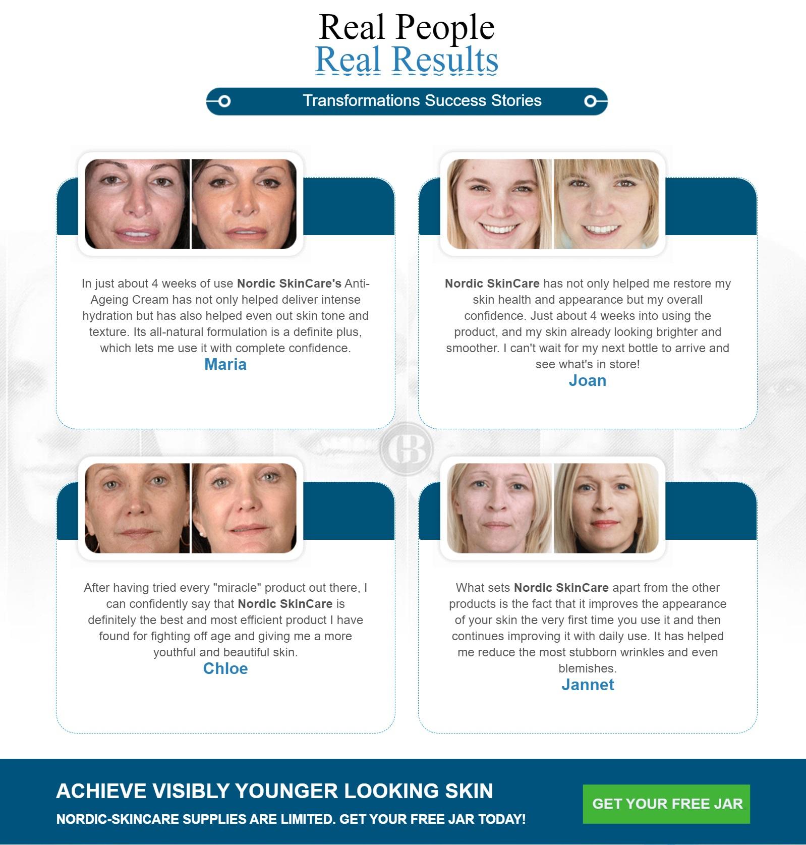 Nordic Anti Aging Cream Real Reviews