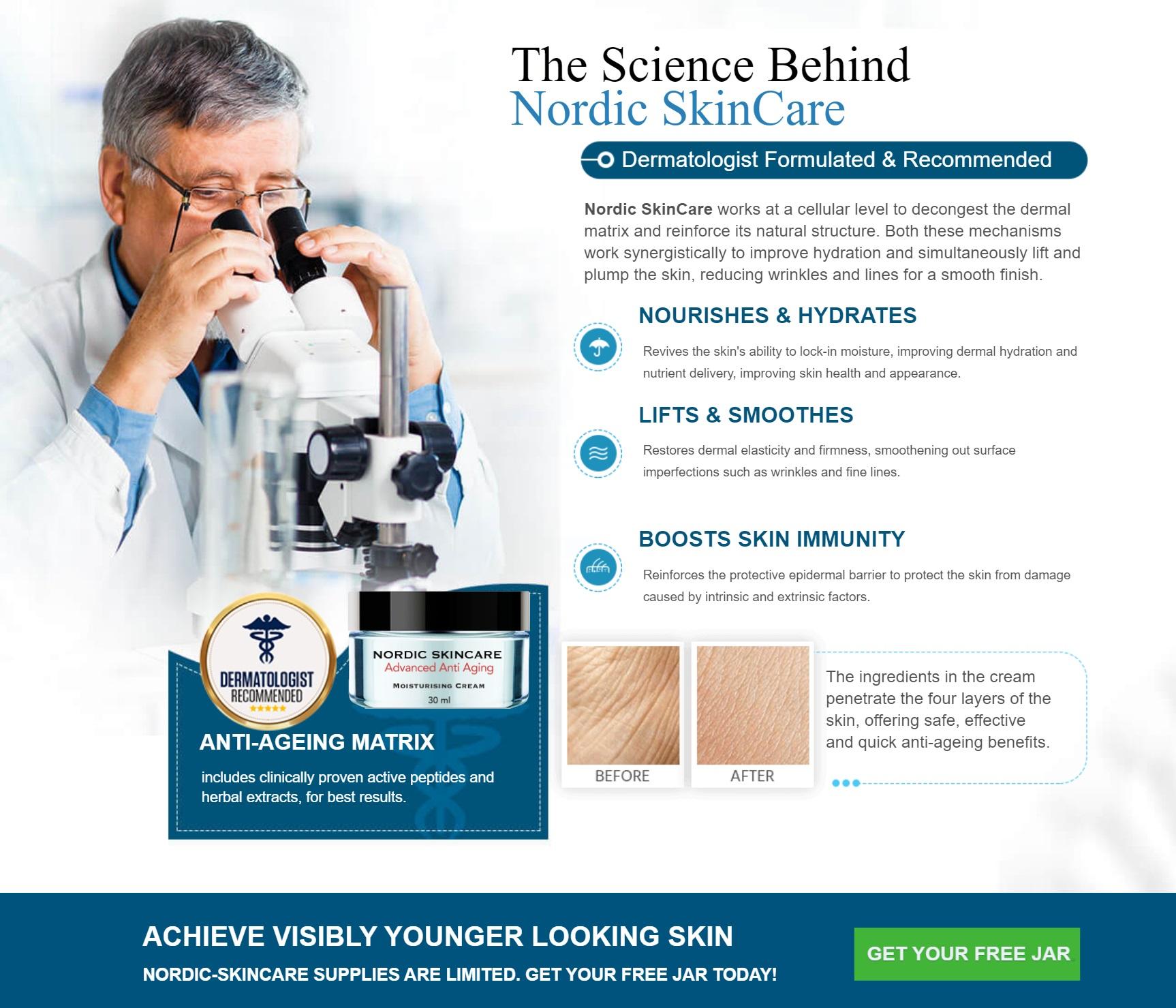 Nordic Anti Aging Cream Science Behind