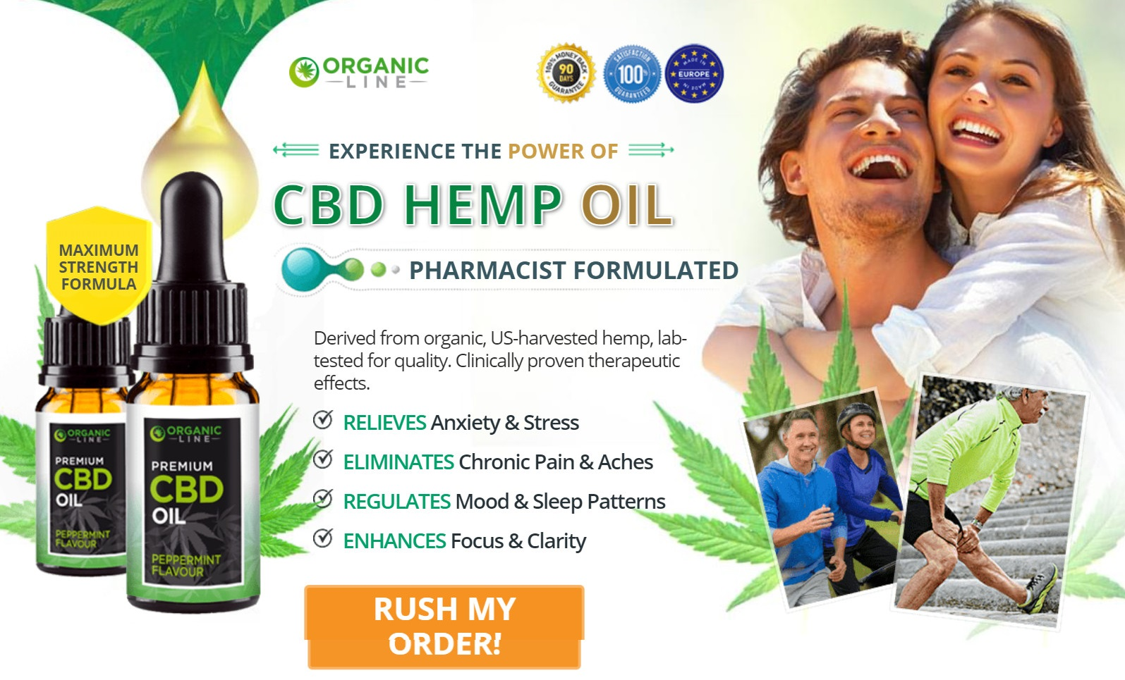 Organic Line CBD Oil Buy Now
