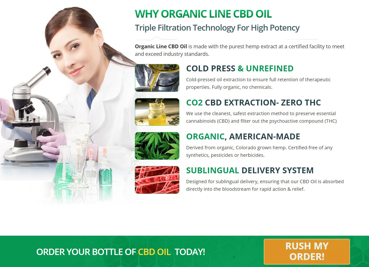 Organic Line CBD Oil Introduction