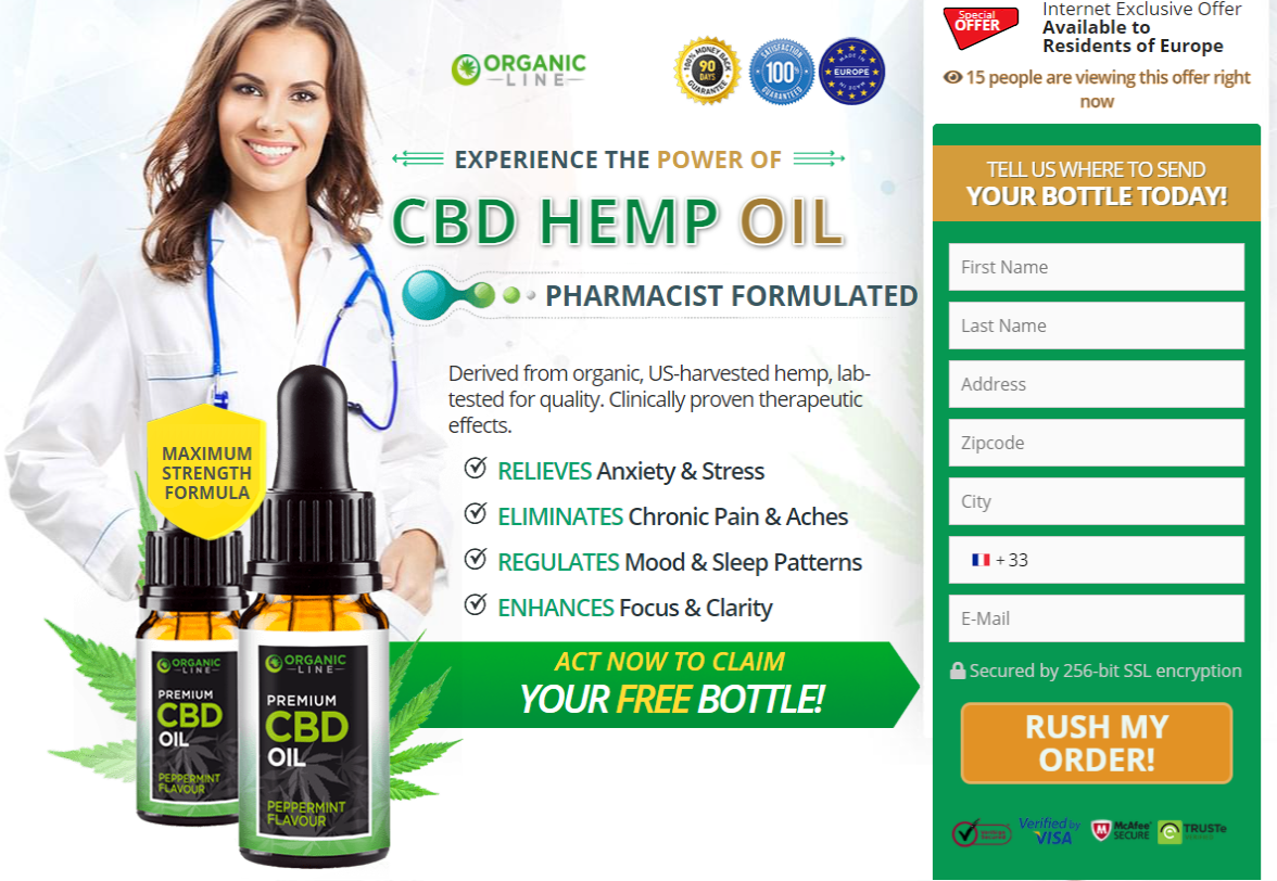 Organic Line CBD Oil price